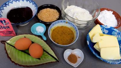Ingrédients pour la recette : Biscuits canailles aux mûres