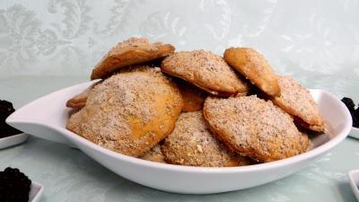 Amande en poudre : Biscuits canailles aux mûres