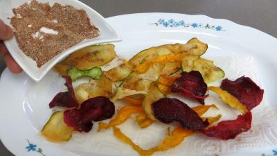 Chips aux courgettes, carottes et betterave rouge - 6.1