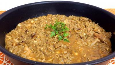 Recette sauteuse de risotto à l'oseille