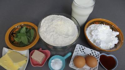 Ingrédients pour la recette : Pains à la sauge