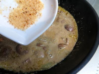 Rognons d'agneau à la crème de cassis - 4.2