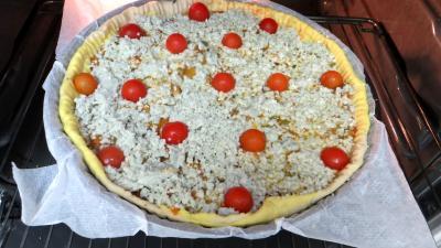 Pizza aux oignons et au bleu - 7.2