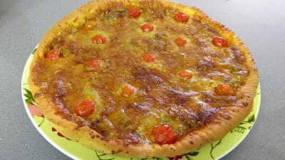 Pizza aux oignons et au bleu - 7.4