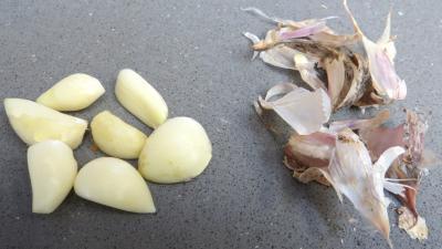 Bruschette aux champignons de paris - 1.1