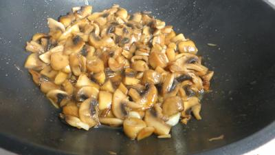Bruschette aux champignons de paris - 4.4
