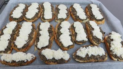 Bruschette aux champignons de paris - 5.4