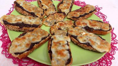 Recette Bruschette aux champignons de paris