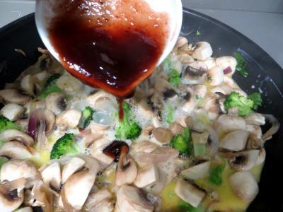 Filets de boeuf aux champignons - 5.3