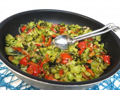 Légumes : Sauteuse de brocolis à l'ail