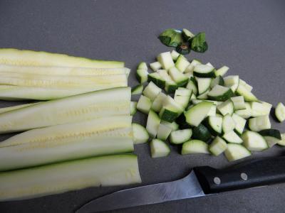 Clafoutis à la brousse et courgettes - 2.1