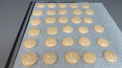Biscuits croustillants amandes-café - 6.3