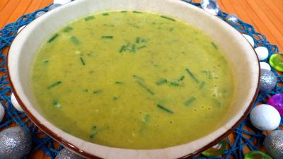 La cuisine des grand-mères : Bol de soupe fine de butternut