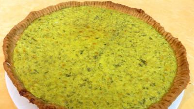 cuisine fromage : Assiette de tarte au caillé