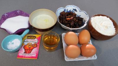 Ingrédients pour la recette : Cake anglais