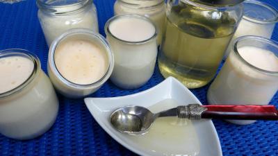 Cuisine diététique : Yaourts au miel