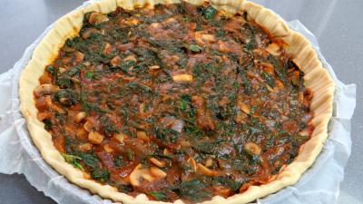 Pizza au magret et coeurs de canard - 6.2