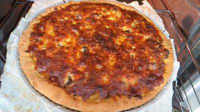 Pizza au magret et coeurs de canard - 7.3