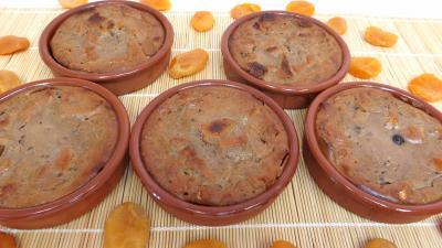 Abricot sec : Moules de pain perdu aux abricots