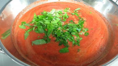 Sauce tomate aux piments doux - 7.3