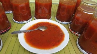 Recette Sauce tomate aux piments doux