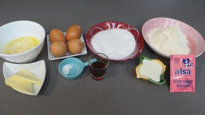 Ingrédients pour la recette : Gâteau cocotte