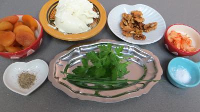 Ingrédients pour la recette : Abricots secs au mascarpone