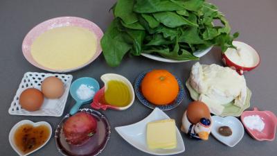 Ingrédients pour la recette : Agnolotti à l'orange