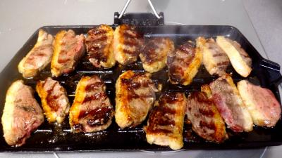Magrets de canard grillés - 5.4