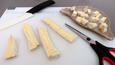 Brie et poires en salade - 2.3