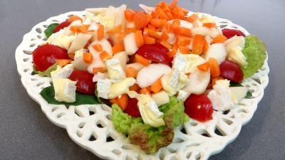Brie et poires en salade - 4.2