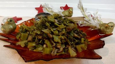 champignon conserve : Brocolis au vin