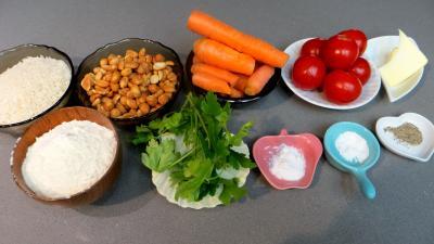 Ingrédients pour la recette : Pâté de cacahuètes
