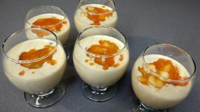 Kakis au fromage blanc et à l'amaretto - 4.1