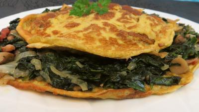Omelette aux épinards - 9.1