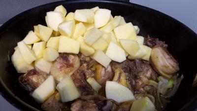 Fricassée de canard aux pommes - 3.1