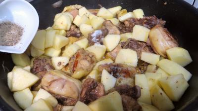 Fricassée de canard aux pommes - 3.3