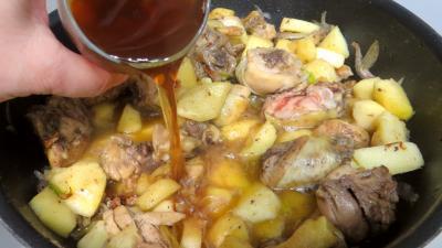 Fricassée de canard aux pommes - 4.1