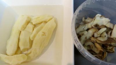 Chou-rave, châtaignes aux encornets - 2.1