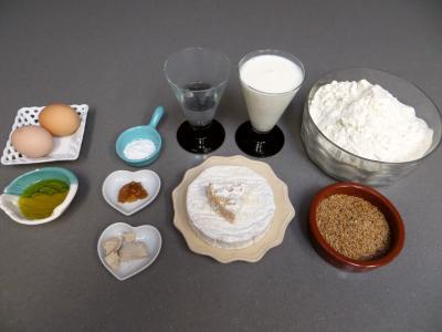 Ingrédients pour la recette : Bagels au chèvre