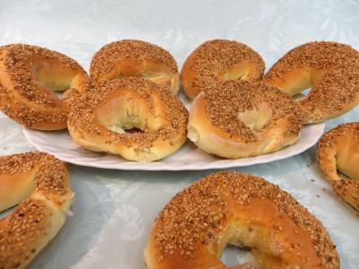 cuisine fromage : Bagels au chèvre