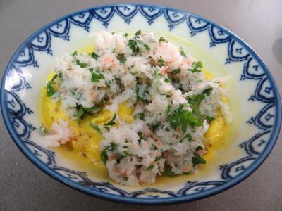 Oeufs mimosa aux crevettes - 2.3