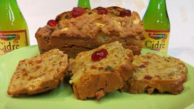 fruits confits : Cake au cidre