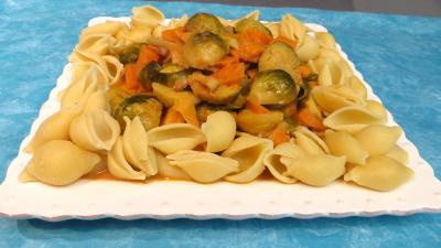 Recette Choux de Bruxelles aux patates douces