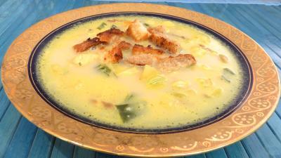 Soupes & potages : Potage à la crème et au curry