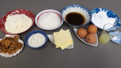 Ingrédients pour la recette : Cupcakes à la noix de coco