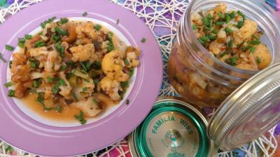 Légumes : assiette de chou-fleur façon grecque