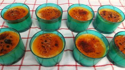 Recette Crèmes brûlées au sirop d'érable