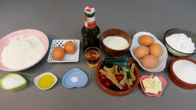 Ingrédients pour la recette : Pannequets aux fruits confits