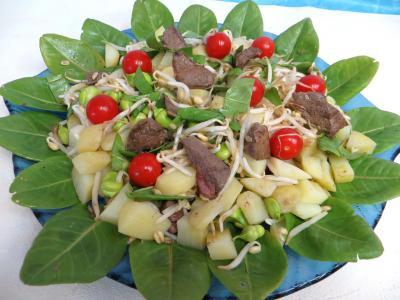 Salade en sauce verte - 6.2